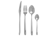 Stainless steel cutlery set Toscane – 16-piece forged steel design flatware