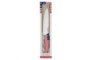 Chef knife Flag/Pays – 15cm white ceramic blade