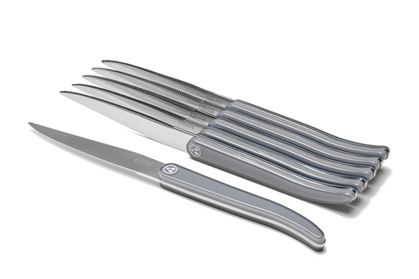 Laguiole Evolution table knife set – Full tang blade