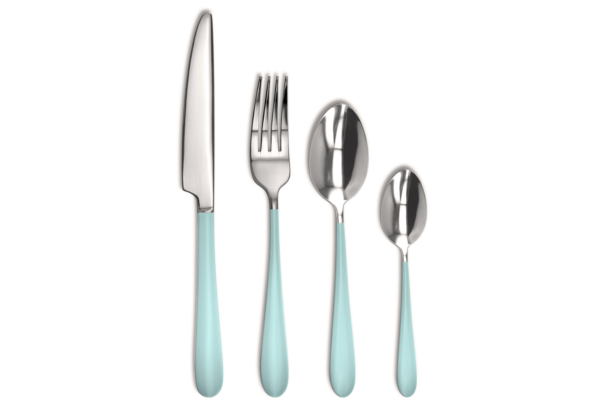 Flatware 16 piece - Nuance Blue