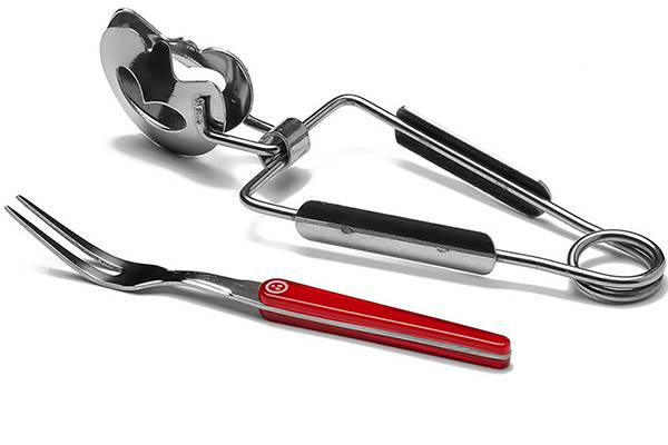 8-piece snail forks and tongs – Laguiole Evolution Acidulé