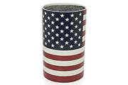 Knife block, round – American flag
