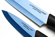 2-kitchen knife set – Titanium ceramic blade