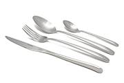Stainless steel cutlery set Kos – 16-piece stainless steel flatware