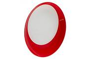 6-bright red dinner plates 25cm – Laguiole Evolution tableware