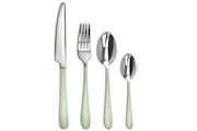 Nuance Opale 16-piece stainless steel flatware set