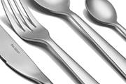 Stainless steel cutlery set Oslo – 16-piece forged steel design flatware