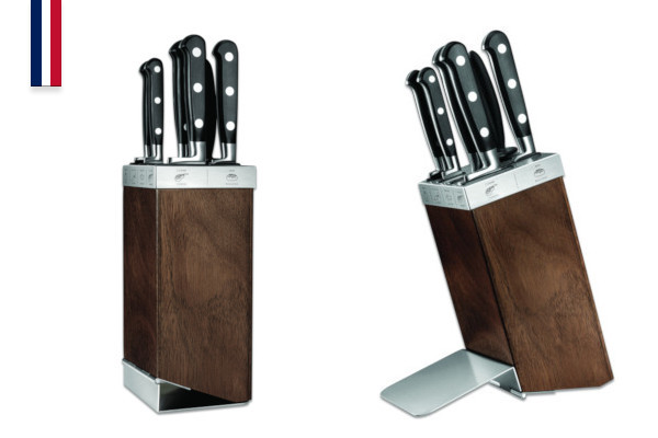 Maestro Idéal 5 knife block + Sharpening