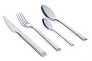 Stainless steel cutlery set Soho – 24-piece forged steel contemporary tableware