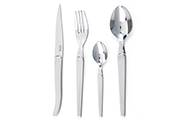 Laguiole Intuition Brillant – 16-forged stainless steel flatware